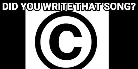 """""""Do It Right Copyright"""" Workshop tickets"""