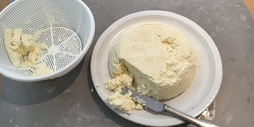 Wheys with buttermilk - butter, crème fraiche, ghee & buttermilk ricotta