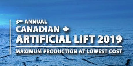 Canadian Artificial Lift 2019 tickets