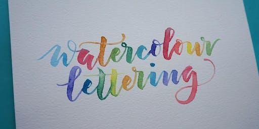 Watercolour Lettering Workshop