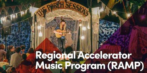 Musician & Venue Development Workshop - VENUE REGISTRATIONS - RAMP Port Lincoln