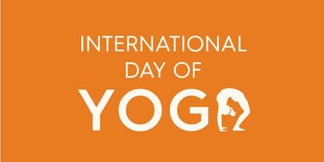 International Day of Yoga Celebration - 2019 tickets