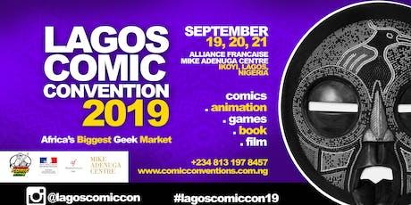 LAGOS COMIC CON  2019 tickets