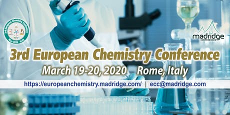3rd European Chemistry Conference tickets