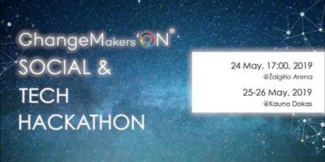 Let's hack social and tech: ChangeMakers'ON Hackathon 2019! tickets