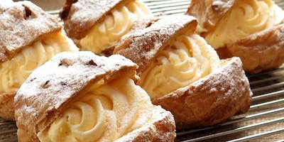 French Pastry Workshop: Éclairs & Cream Puffs by