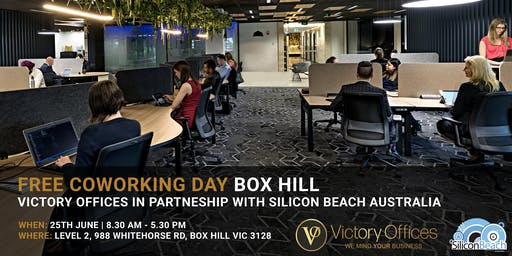 Victory Offices   Free Co-working Day & Free One Month Offer   Box Hill