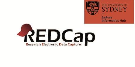 Surveys in REDCap (webinar) tickets