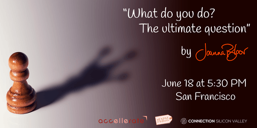 What do you do? The ultimate question.