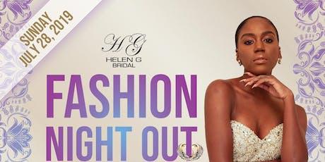Helen G Events Wedding Planning Workshop & Fashion Show Fashion Night Out tickets
