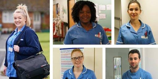 June Nursing Recruitment Event - Salford Care Organisation