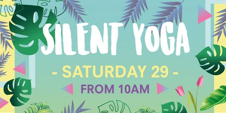 Silent Yoga in Battersea Park tickets