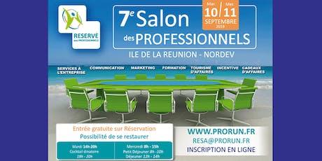 7ème Salon des Professionnels billets
