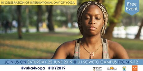 Soweto - International Day of Yoga 2019 celebrations - by Art of Living tickets