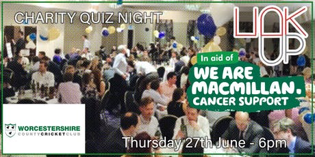 Linkup Worcester presents BoB Club Game Show Quiz for Macmillan tickets