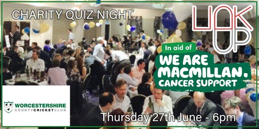 Linkup Worcester presents BoB Club Game Show Quiz for Macmillan