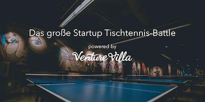 Das große Startup Tischtennis-Battle