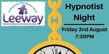 Leeway Hypnotist Night with Matthew Kinross tickets