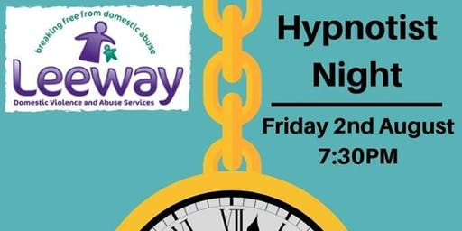 Leeway Hypnotist Night with Matthew Kinross