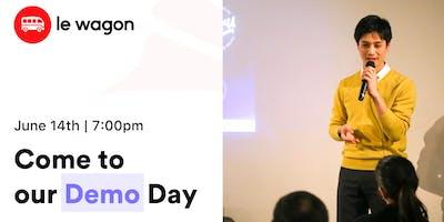 Demo Day - Le Wagon Tokyo Coding Bootcamp - Batch #252