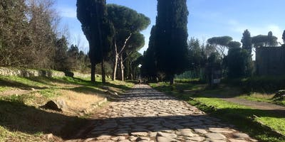 14km run on Via Appia Antica