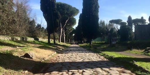 14km run on Via Appia Antica