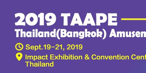 2019 THAILAND (BANGKOK) AMUSEMENT & ATTRACTION PARKS EXPO