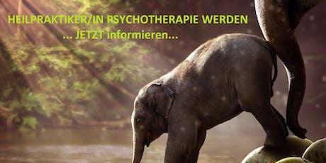 Heilpraktiker Psychotherapie NEUartige, familienfreundliche Ausbildung Berlin Tickets