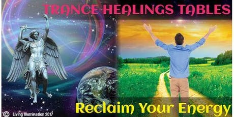 Trance Healing Tables - QLD! tickets
