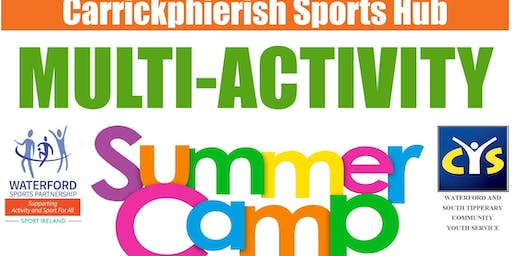 Carrickphierish Sports Hub - 2019 Multi-Activity Summer Camp for 4 - 8 yr olds