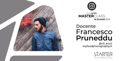 Instagram Masterclass con Francesco Pruneddu