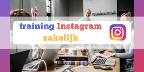 Training  Instagram Zakelijk tickets