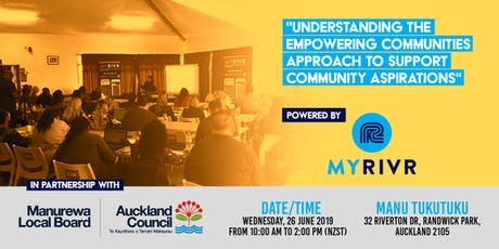Understanding the Empowering Communities Approach to Support Community Aspirations tickets