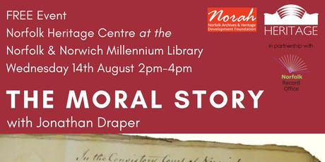 The Moral Story with Jonathan Draper tickets