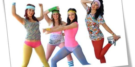 We R Here: 80's Aerobics Dance Party
