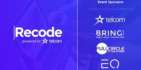 Coding for Beginners | Bolton | Recode & Bring Digital | Digital Skills Class | June 2019 tickets