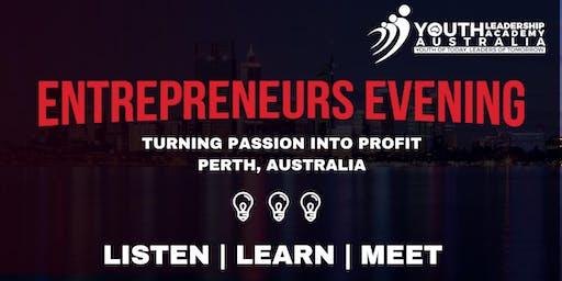 Entrepreneurs Evening - Perth