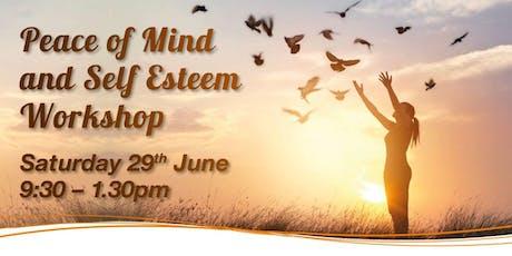 Peace of mind and self-esteem tickets