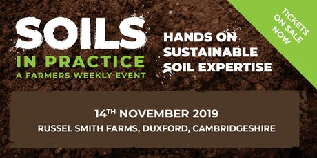 Soils in Practice - South tickets