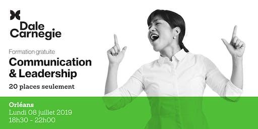 Communication & Leadership - Soirée de formation gratuite à Orléans