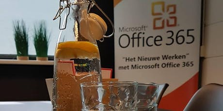 Borrelsessie Microsoft Office 365 Teams tickets