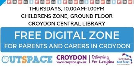 Digital Skills for Parents, carers and residents, Croydon Library - Employability tickets