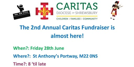 Caritas Shrewsbury Fundraiser
