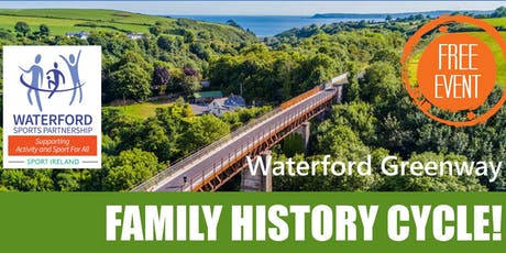 Bike Week - Family History Cycle - Waterford Greenway  tickets