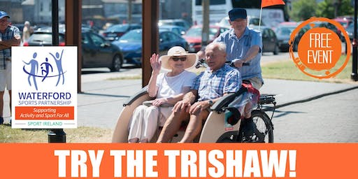 Bike Week - Try the Trishaw - Over 50's - Taster Spins