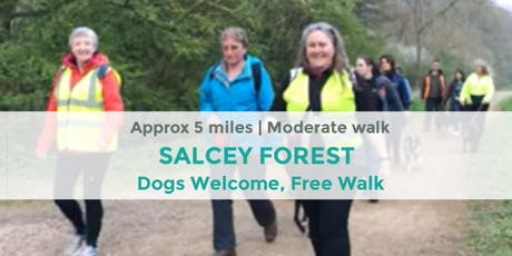 SALCEY FOREST | APPROX 5 MILES MILES | MODERATE | NORTHANTS tickets