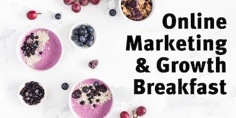 Online Marketing & Growth Breakfast #19 billets