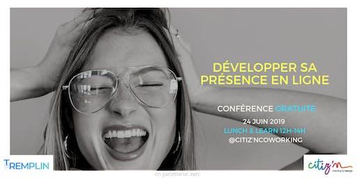 Développer sa présence en ligne  - Conférence GRATUITE