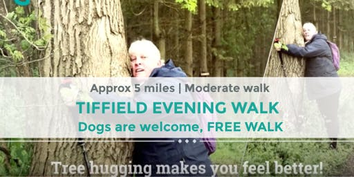 TIFFIELD SHORT WALK LOOP |  APPROX 3-5 MILES | MODERATE | NORTHANTS