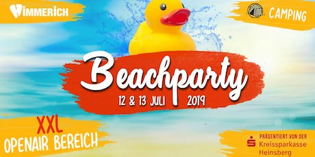 Beachparty 2019 Tickets